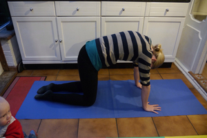 5 tips to help you get back in shape after baby  yogaberry